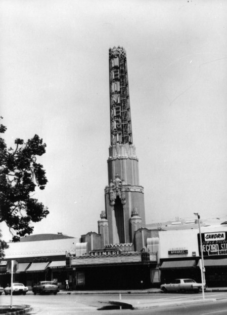 Leimert Theater, 1968| Security Pacific National Bank Collection , courtesy of the Los Angeles Public Librar