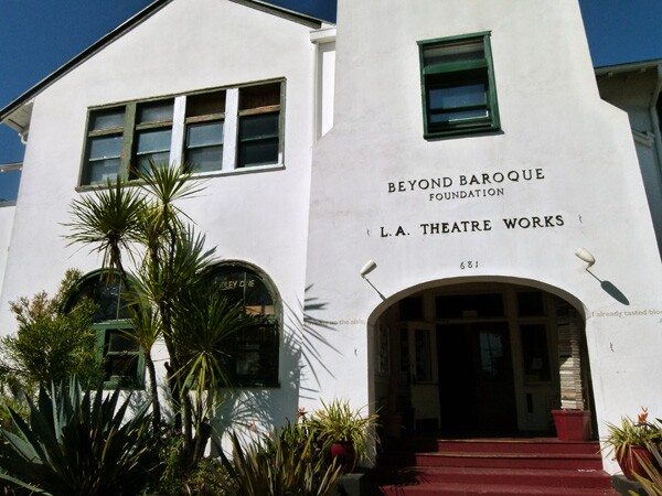 Beyond Baroque   Photo by Kelly Simpson/KCET Departures