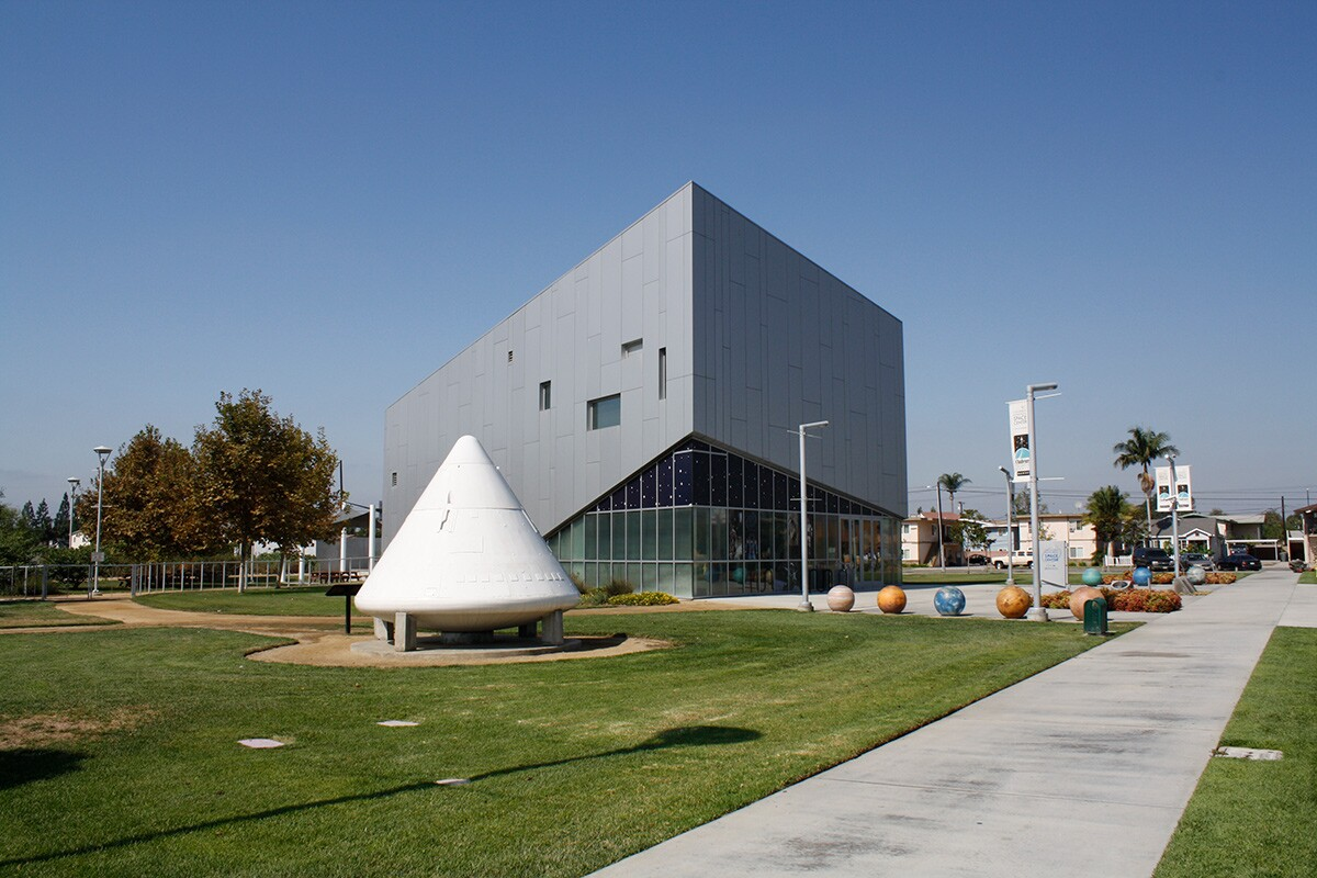 The Columbia Memorial Space Center in Downey. | Courtesy of the Columbia Memorial Space Center