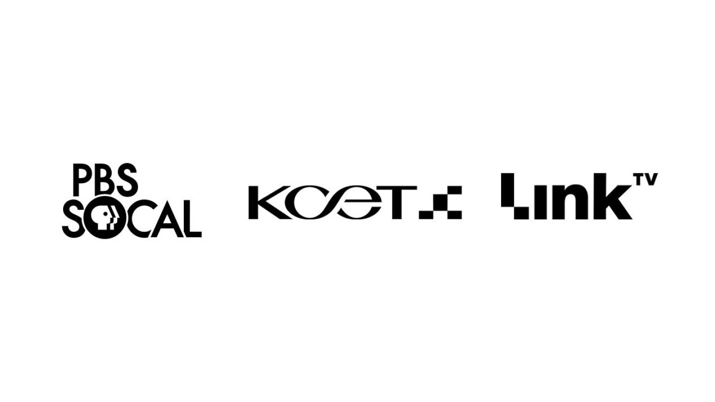 Logos: PBS SoCal, KCET, Link TV
