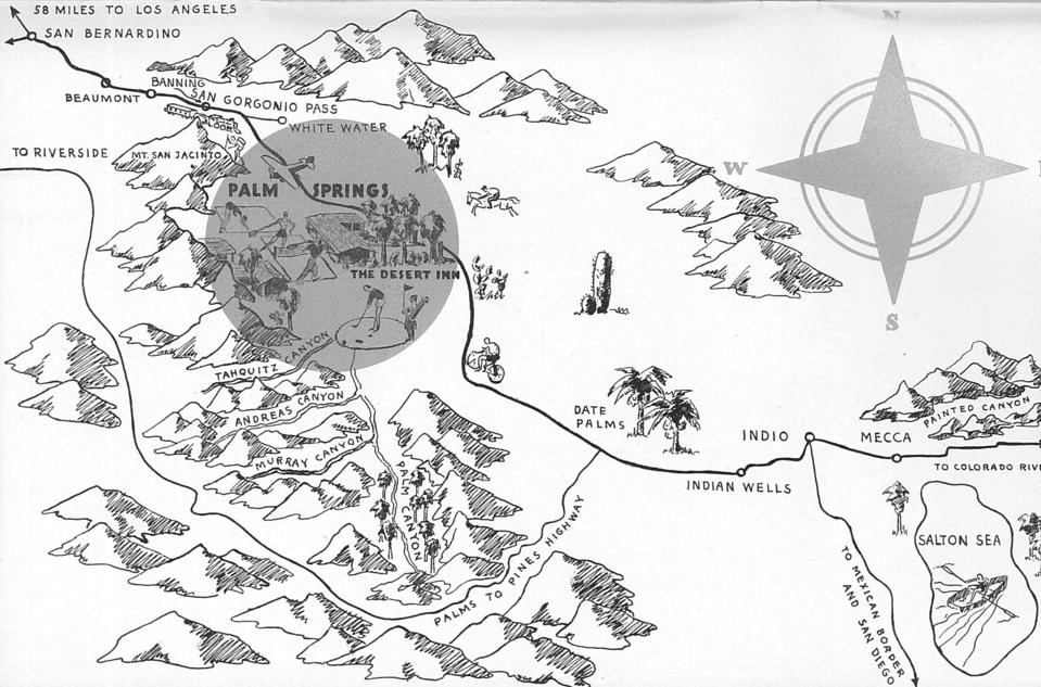 "From the Desert Inn's 1928 pamphlet, ""The Sands of Time"""
