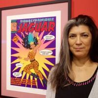 """Laura Molina at """"Artists Assemble"""" at MOLAA"""