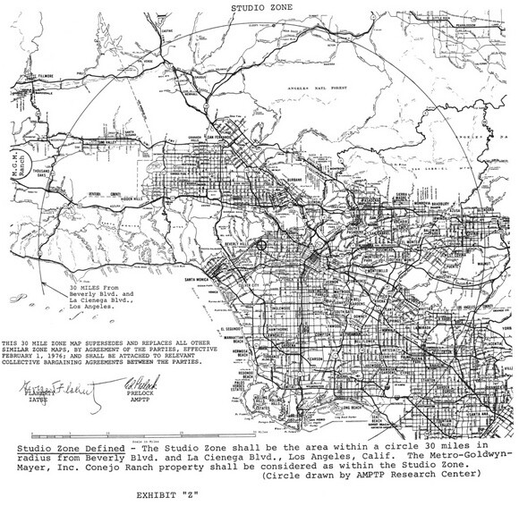 """""""30 Mile Map"""" 