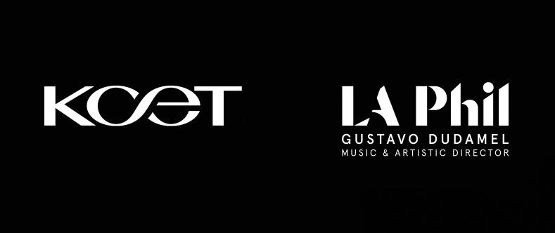 KCET and LA Phil logos