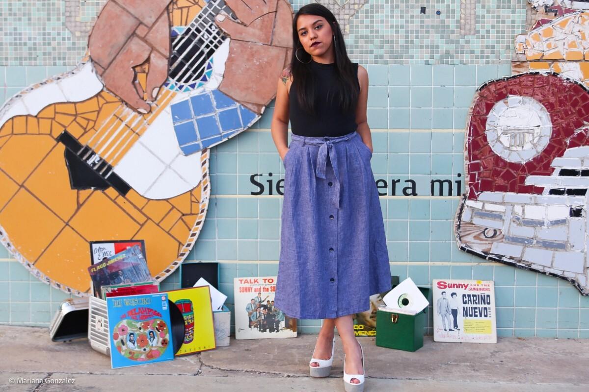 Chulita Vinyl Club founder Claudia Saenz   Mariana Gonzales