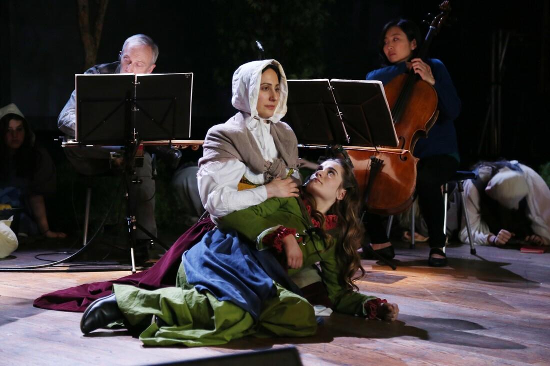 "Maria Lazarova plays the Mother in ""Vireo""   Remsen Allard"
