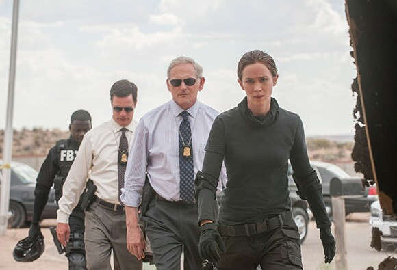 "Emily Blunt as Kate Macer in ""Sicario.""   Photo: Richard Foreman."