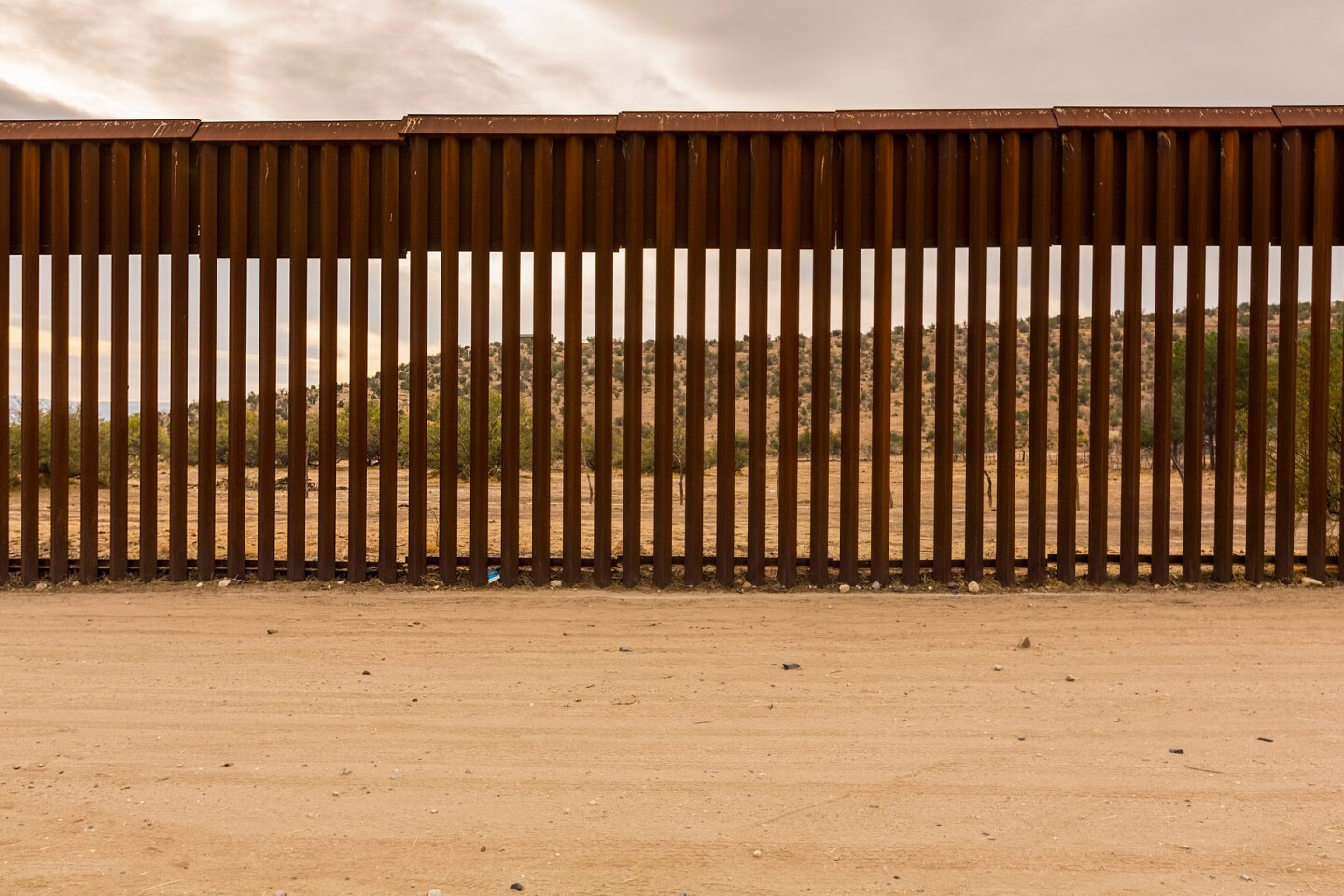 United States Border Wall with Mexico