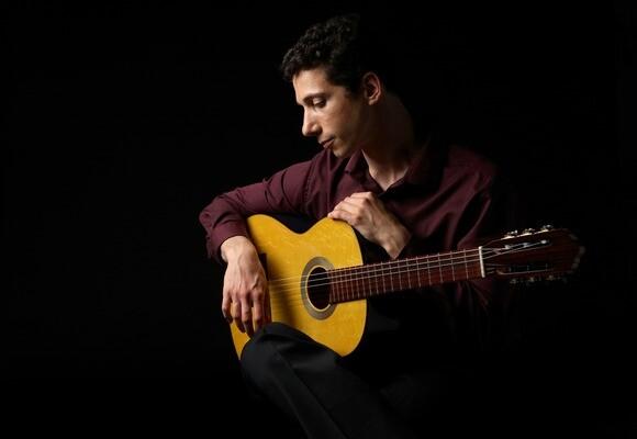 Russian flamenco guitarist Grisha Goryachev.JPG