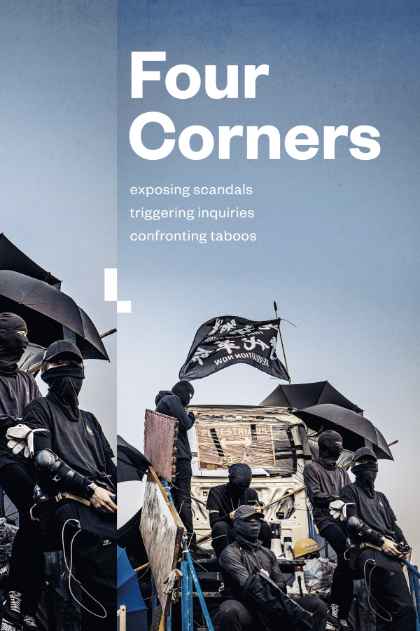 Four Corners Show Poster