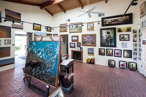 Reza Sepahdari's art gallery | Photo: Chip Morton.