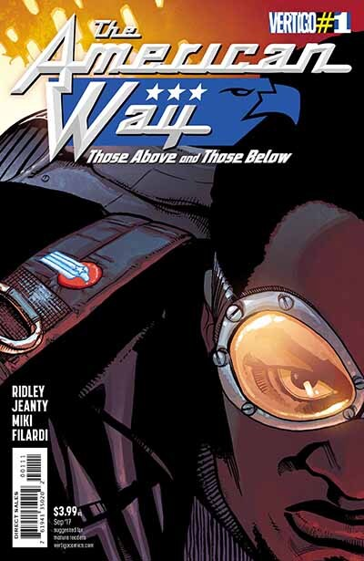 The American Way: Those Above and Those Below, DC Comics
