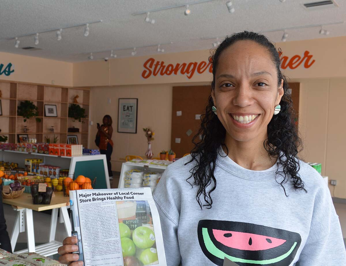 Kelli Jackson of Hank's Mini Market | Linus Shentu