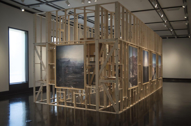 """Rodrigo Valenzuela's """"Work in its Place"""" installation"""