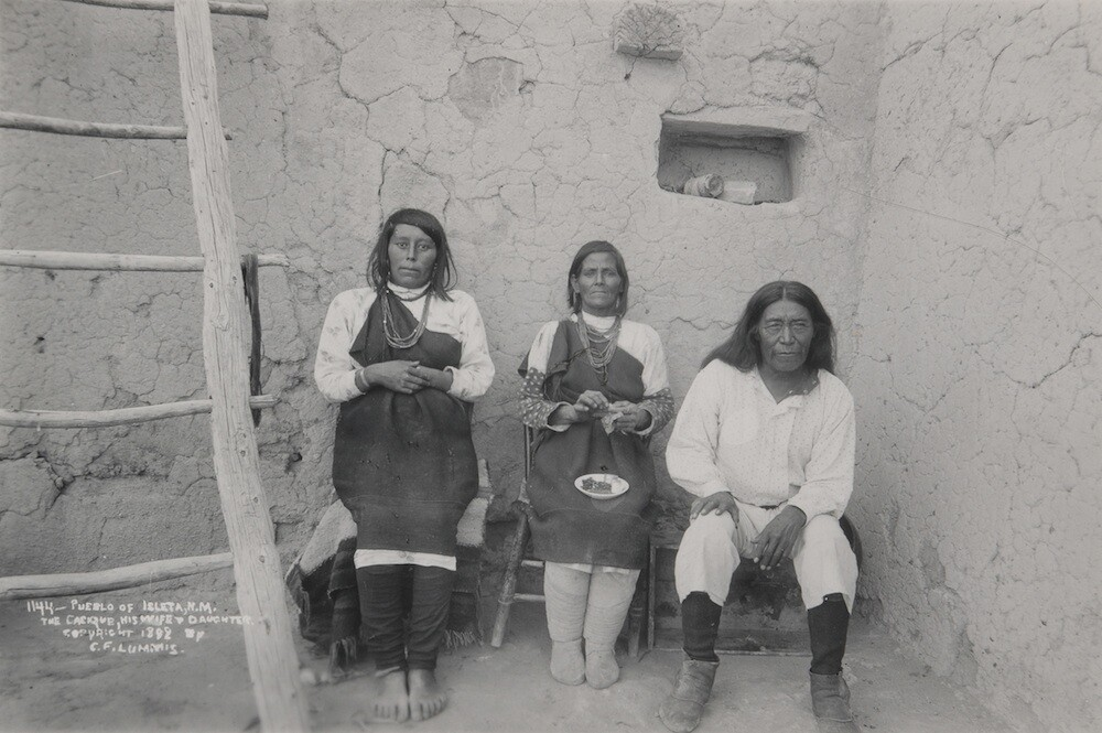 Charles Lummis' New Mexico photography