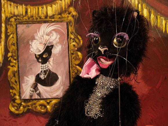 Fiesta Black Cat | Photo: Courtesy of The Bob Baker Marionette Theater.