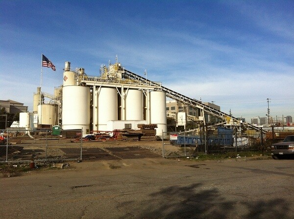 CalPortland cement plant, soon to be replaced by a mixed-use development