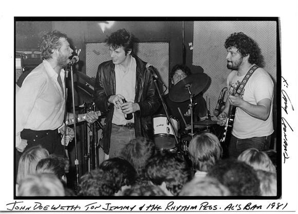 John Doe with Top Jimmy and The Rhythm Pigs. | Photo: Gary Leonard