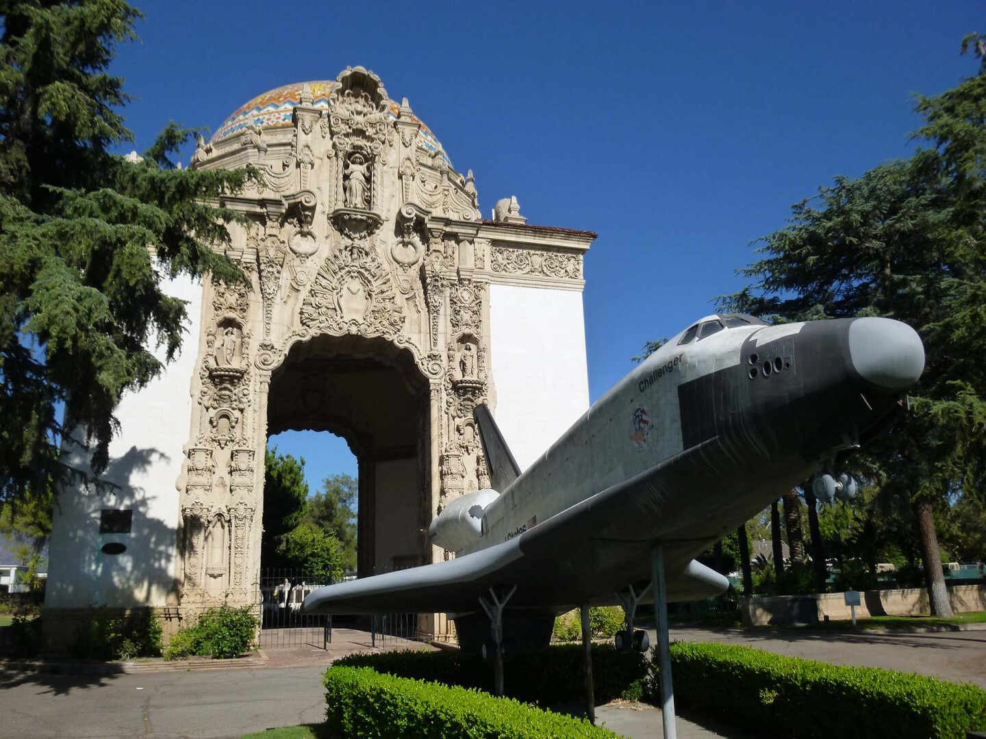 """""""The Portal of the Folded Wings Shrine to Aviation"""" in North Hollywood   Sandi Hemmerlein"""