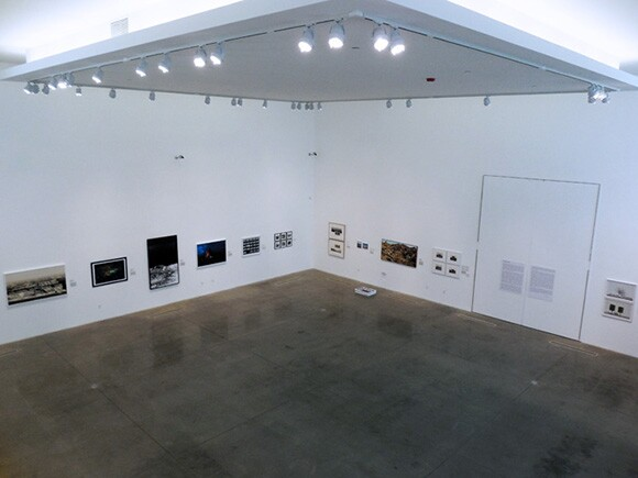 """""""Being Here and There"""" installation shot at MOAH, 2014"""