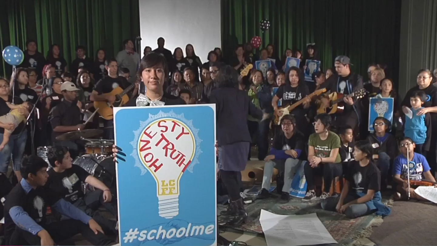 Boyle Heights Artists and Students Write Song on Education and Funding