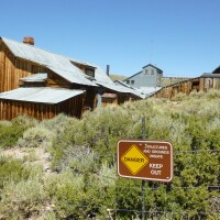 Unsafe ground at Bodie | Sandi Hemmerlein