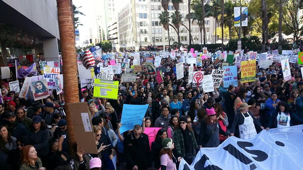 Women's March: Crowd