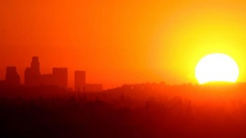 Sun Heat Skyline