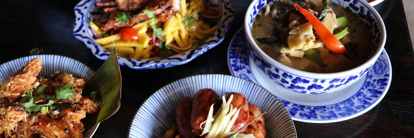 Dishes from Chao Krung | Courtesy of Chao Krung