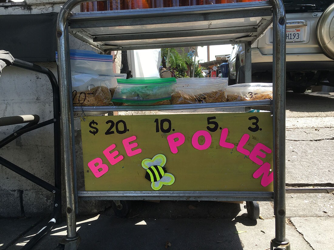 Bee Pollen Sign | Oliver Wang