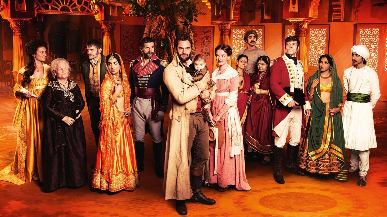 "Full cast of ""Beecham House on Masterpiece"" key art."
