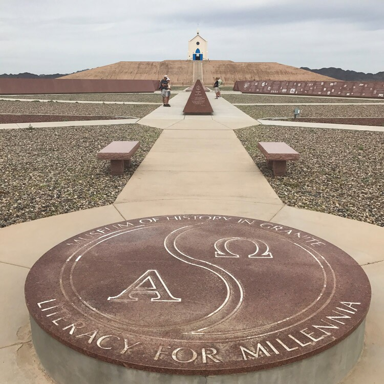 Marker for the Museum of History in Granite, Felicity | Brant Barger