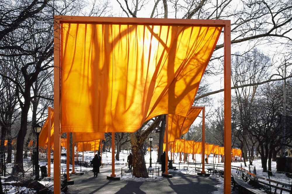 The Gates, Central Park, New York City, 1979-2005. Christo and Jeanne-Claude 2