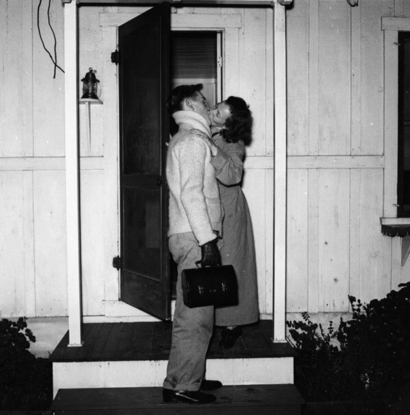 Cole and Dorothy Weston at home, view 2