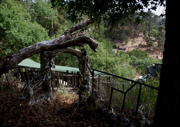 """This Nitt Witt Ridge structure, dubbed the """"wedding chapel,"""" overlooks Cambria's Hillcrest Drive. 