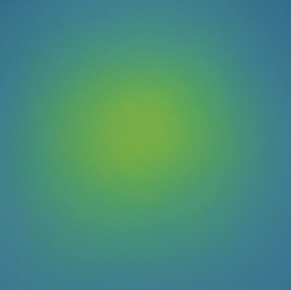 Ruth Pastine's Ray Painting #5, Ray Painting Series, 1997.