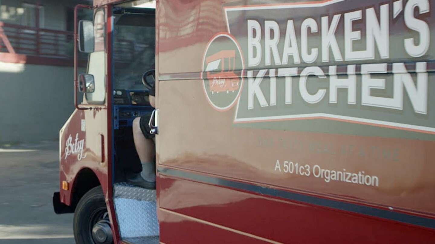 "Bracken's Kitchen truck | Still from ""Broken Bread"""