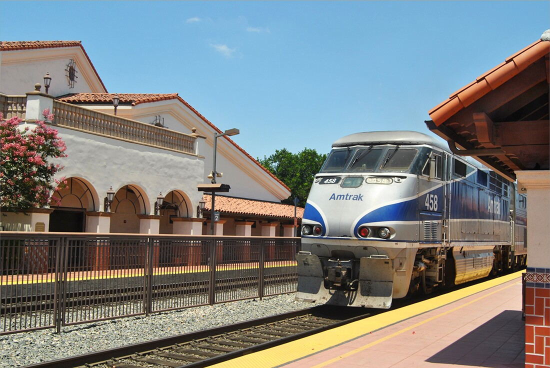 Santa Ana Amtrak Station