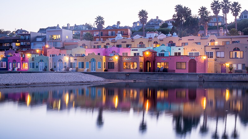 Upscale lodging in the once-affordable Capitola | Photo: yhelfman/iStockPhoto