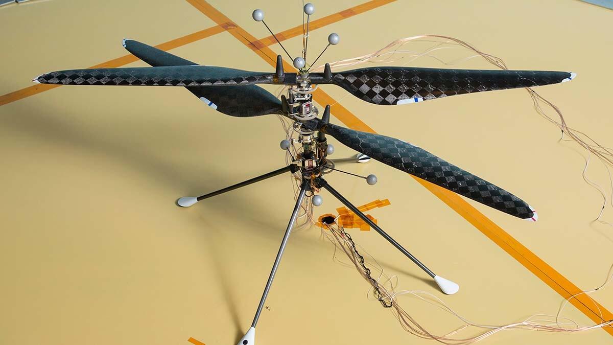 A prototype Mars Helicopter | NASA/JPL-Caltech