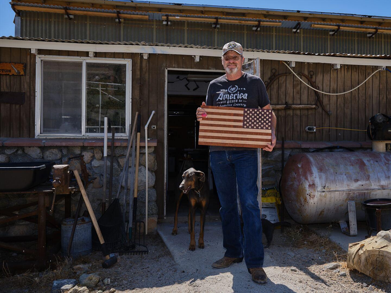 Dave Garrison, Homewood Canyon.   Osceola Refetoff
