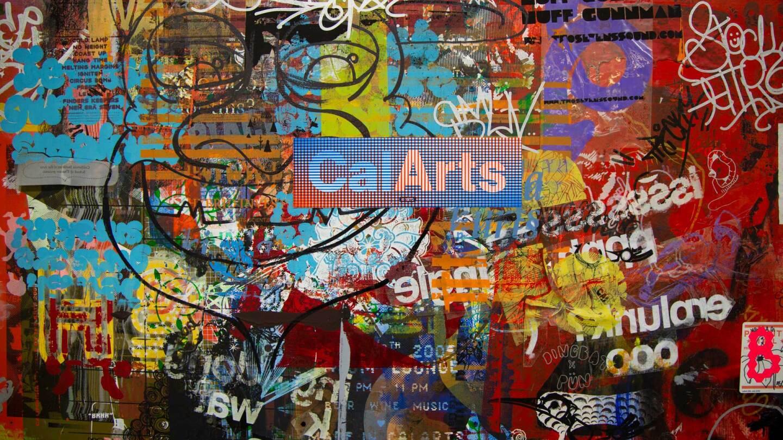 Print Lab doors, CalArts 2020 | Michael Worthington