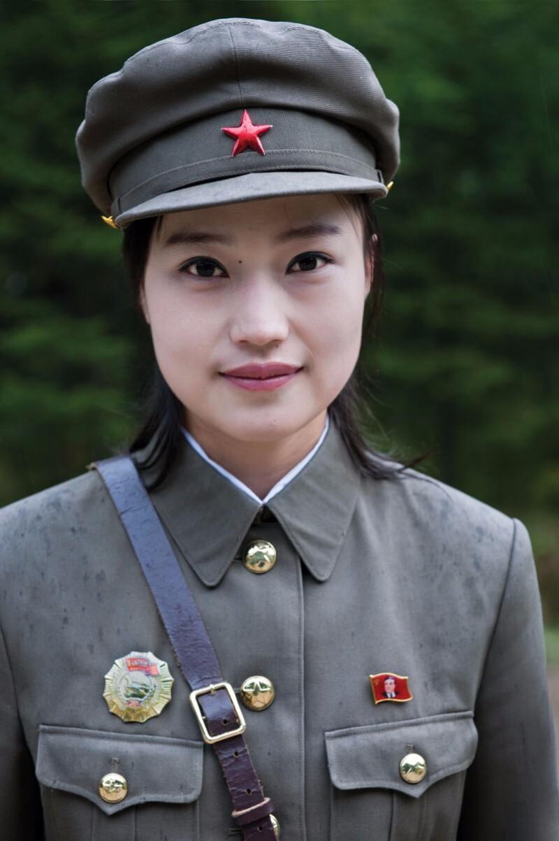 A guide at Secret Camp No. 1 where North Korean history books claim Kim Jong Il was born in near Mt. Baektu, North Korea   Mark Edward Harris/Getty Images