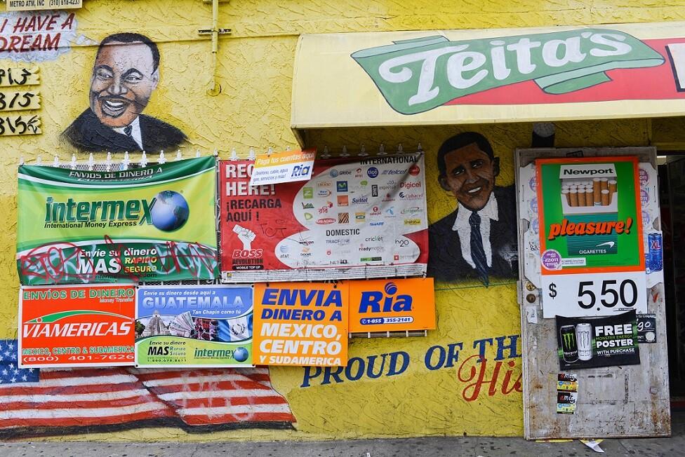 MLK/Obama Mural: South LA