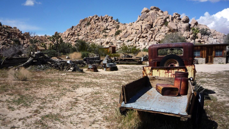 A truck at Keys Ranch