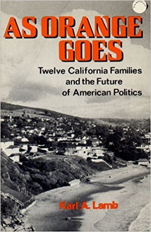 """As Orange Goes,"" Karl Lamb's 1974 book about the county"