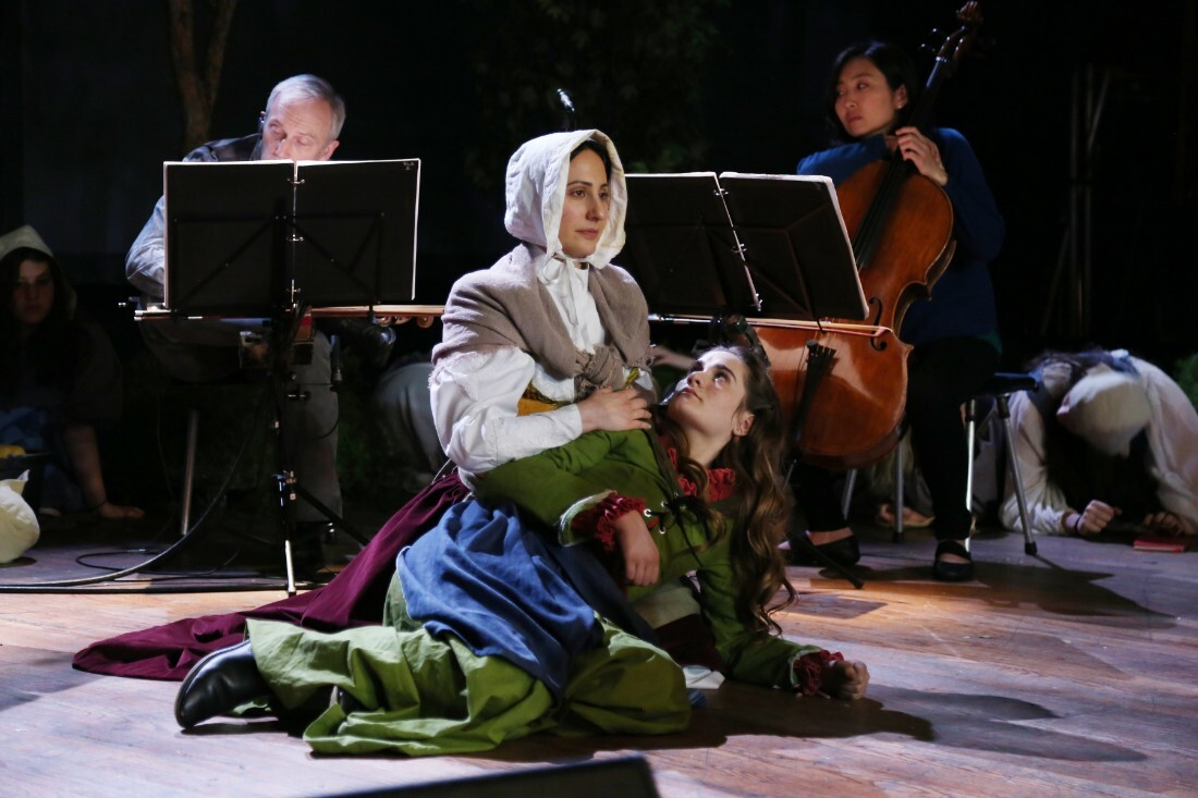 "Maria Lazarova and Rowen Sabala in ""Vireo"" | Remsen Allard"