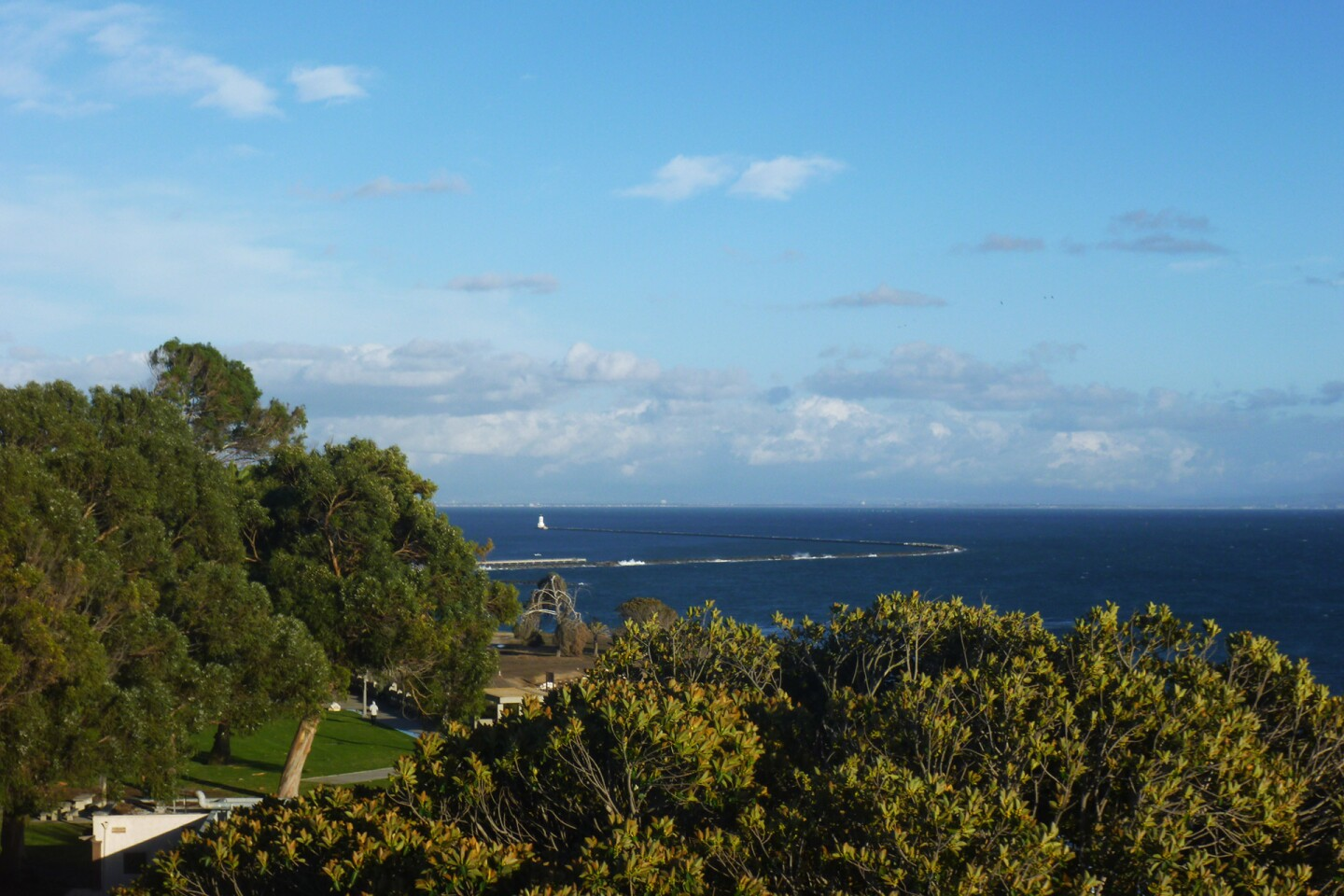 View from Point Fermin Lighthouse Historic Site