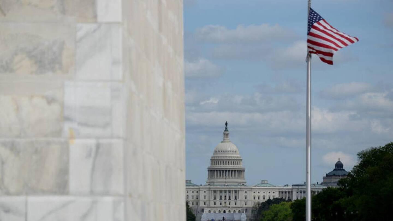 The U.S. Capitol is seen from the Washington Monument, amid the spread of the coronavirus disease (COVID-19), in Washington, U.S., April 25, 2020. | REUTERS/Erin Scott