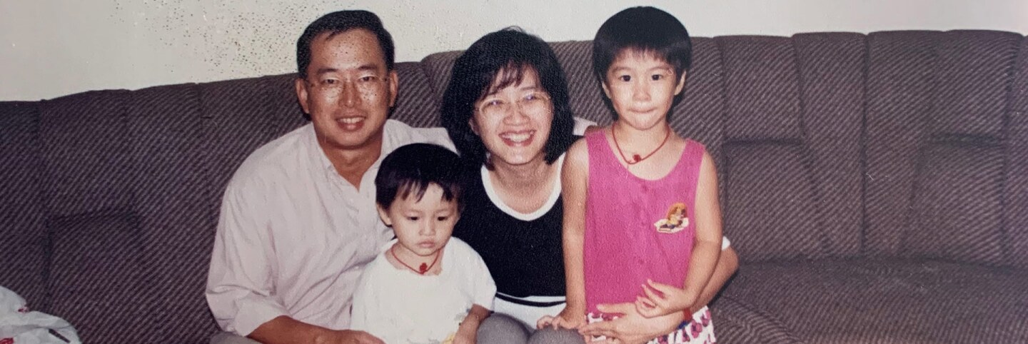 Jocelyn Yow with her family in Malaysia. | Courtesy of Jocelyn Yow